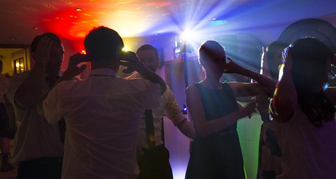 Lich-Atmosphäre Dancing