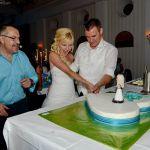 Hochzeitstorte Melanie & Christian